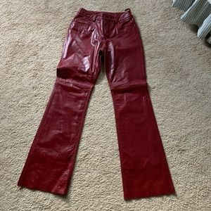 Express Genuine Leather pants